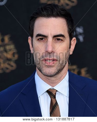 LOS ANGELES - MAY 23:  Sacha Baron Cohen arrives to the