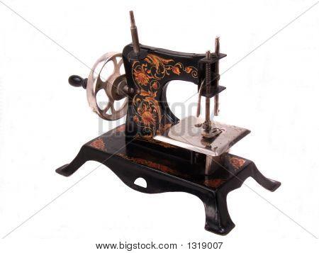 Antique Child'S Toy Sewing Machine