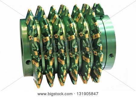 rapid steel hobbing cutter with coating for cog wheels gears machining on factory