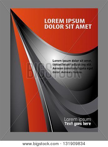 modern brochure design. vector business brochure, flyer template