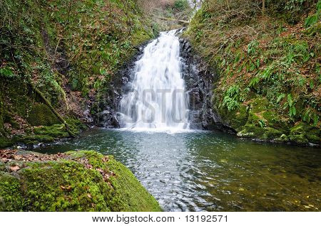 Glenoe Waterfall
