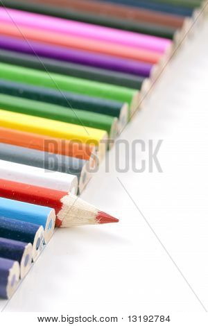 Colorfull Colored Pencils