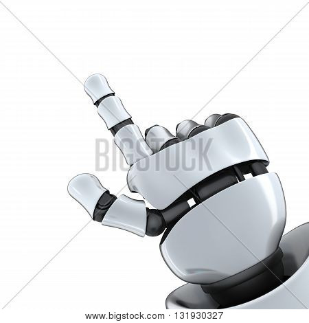 Robot hand specify (done in 3d isolated)