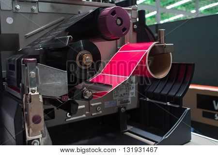 barcode printer lines, gray, business, information, white, paper, equipment