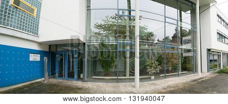 JENA, GERMANY - MAY, 29, 2016: Max Planck Institute for the Science of Human History. The institute was founded in March 2014.