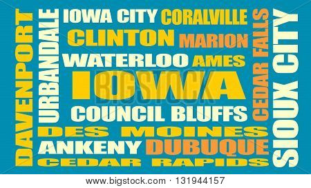 image relative to usa travel iowa state cities list
