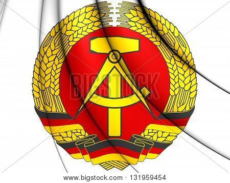 German Democratic Republic Coat Of Arms