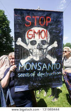 Protest Against Monsanto, Zagreb, Croatia