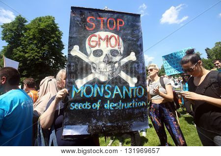 Protest Against Monsanto, Zagreb, Croatia