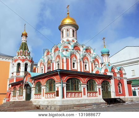 Old Church in the central district of Moscow