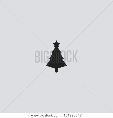 Tree icon vector. Tree logo. Tree sign.  Tree icon web - stock vector.