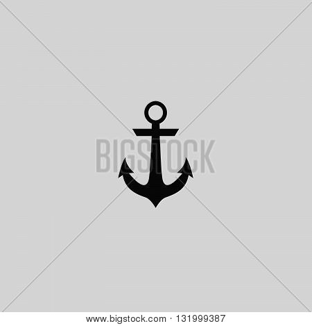 Anchor icon vector. Anchor logo. Anchor sign. Anchor icon web - stock vector.