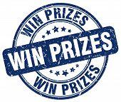 win prizes blue grunge round vintage rubber stamp.win prizes stamp.win prizes round stamp.win prizes grunge stamp.win prizes.win prizes vintage stamp. poster