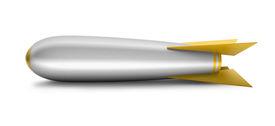 Yellow tipped rocket