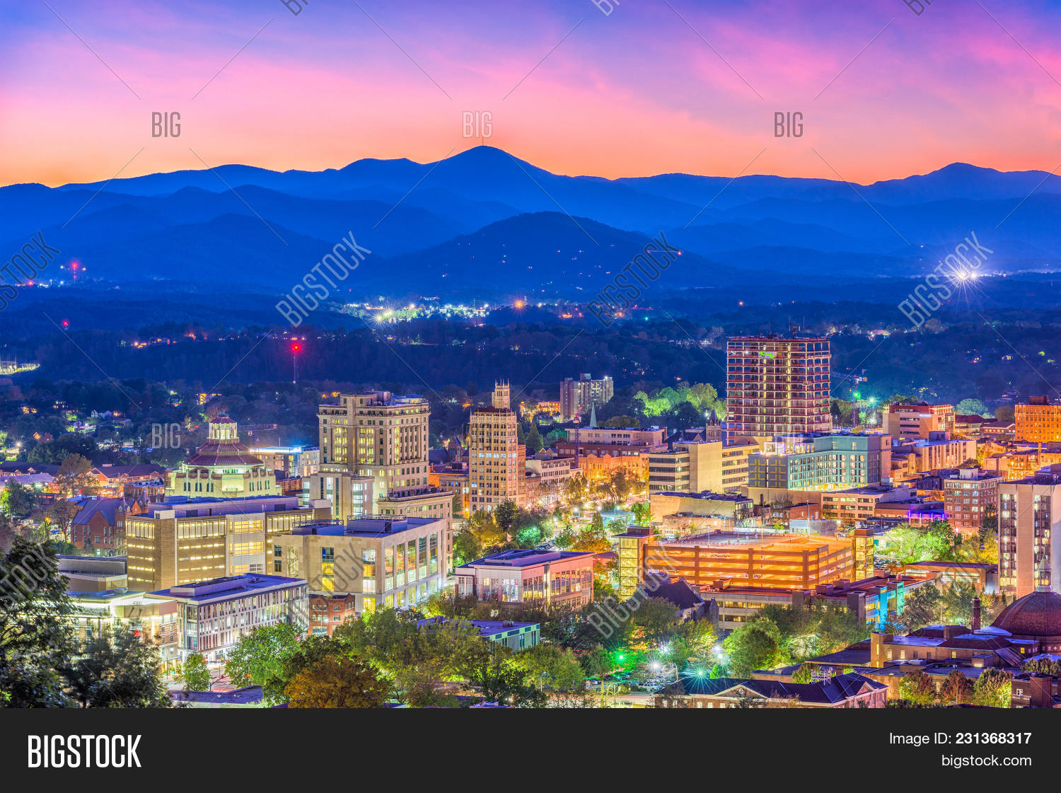 Asheville North Image Photo Free Trial Bigstock