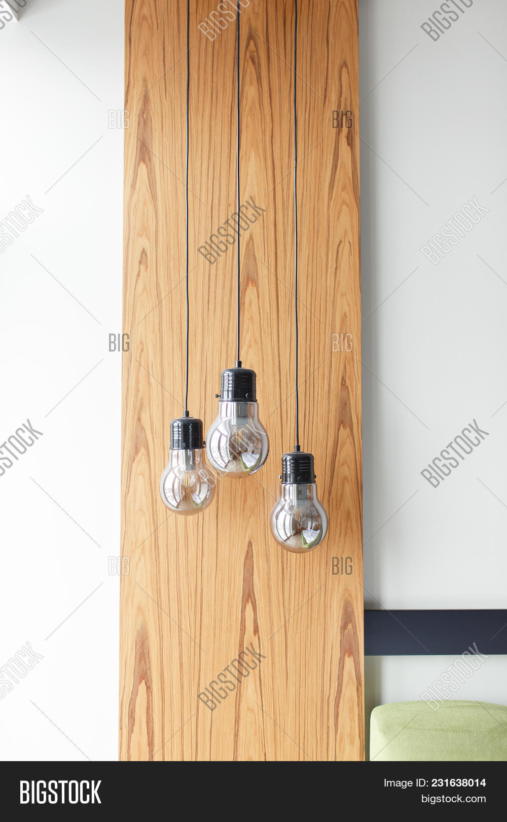 Light Bulbs On Wooden Image & Photo (Free Trial) | Bigstock