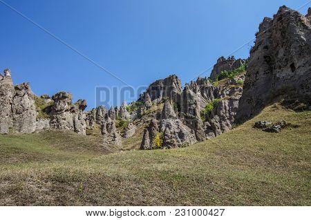 Medieval Goris Cave Dwellings Area, Syunik Province, Armenia