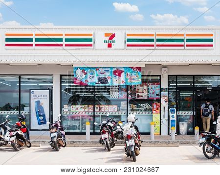 Nakhon Ratchasima, Thailand - Nov 19, 2017 : 7-eleven, Convenience Store With Largest Number Of Outl