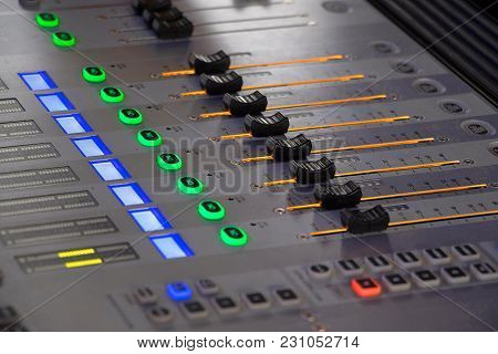 Close View Of Dj Mixer Used For Playing Music, Pune, India