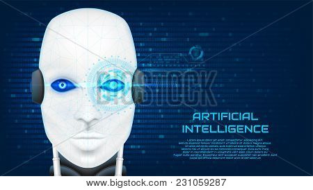 Artificial Intelligence Concept Banner
