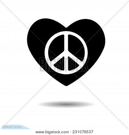 The Heart Icon. A Symbol Of Love. Design Elements For Valentine S Day. Graphic Web Design, Logo. Vec