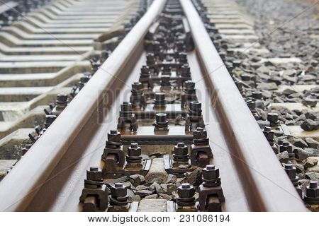Bolts On The Rail, Fastening For Rail