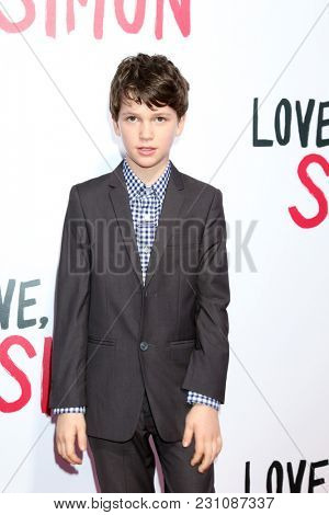 LOS ANGELES - MAR 13:  Gabriel Bateman at the