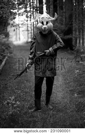 White Rabbit Hunter