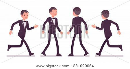 Secret Agent Man, Gentleman Spy Of Intelligence Service, Watcher To Uncover Data, Collect Political,