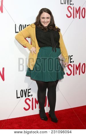LOS ANGELES - MAR 13:  Becky Albertalli at the