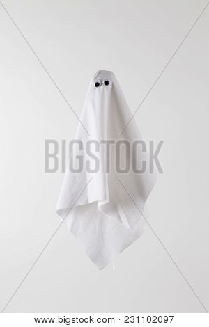 Ghost Back White