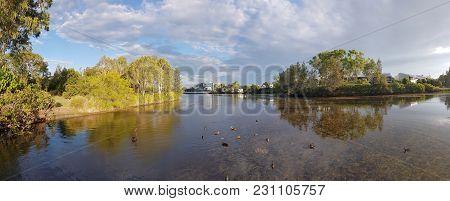 Eden Lake In North Lakes Area, Queensland, Australia