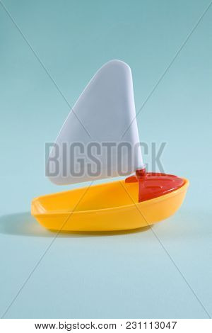Boat Toy Lost At Sea