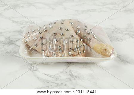 Marble Punk Chicken