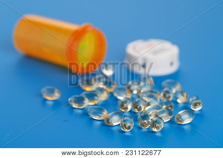 Capsules with vitamin supplements