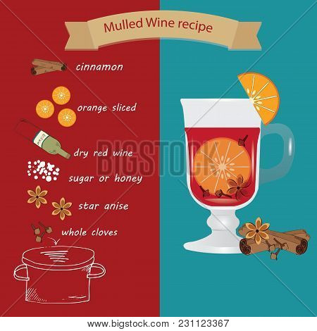 Recipe For Mulled Wine Ingredients For Christmas Hot Drink
