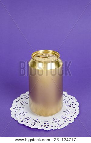 Gold Unused Can