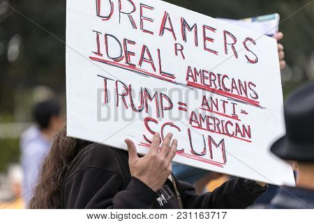 Beverly Hills, California - March 12, 2018: Sign That Reads,