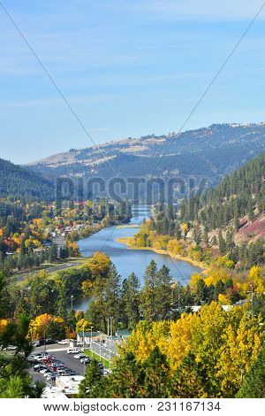 Clearwater River Idaho Usa