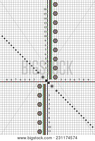 Scale For Alignment And Testing Of Lenses For The Camera After Repair Or Purchase