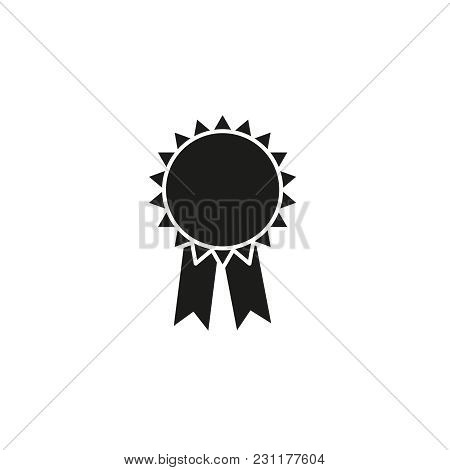 Medal Of Icon On The White Background
