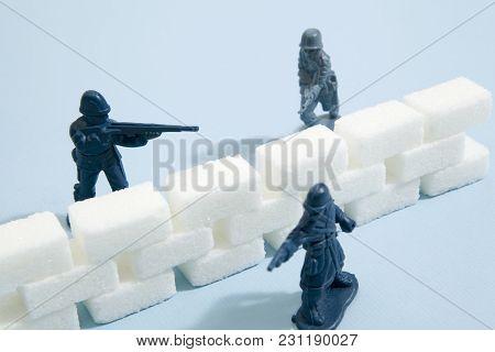 Blue Sugar Soldiers