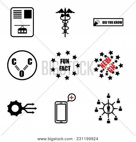 Set Of 9 Simple Editable Icons Such As Customer Centric, Telemedicine, Multi Channel, New Gif, Fun F
