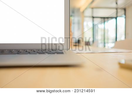 Looking For Direction And Inspiration, Business Working At An Office, Office Desk Table With Compute