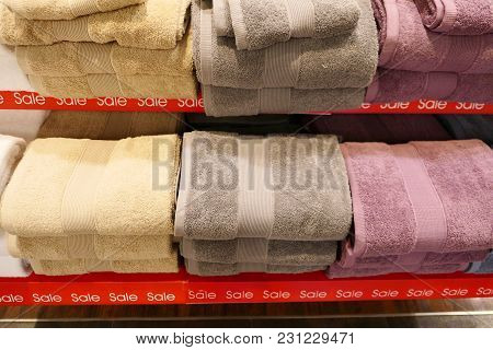 Piles Of Towels