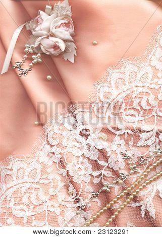 textil esküvői háttér