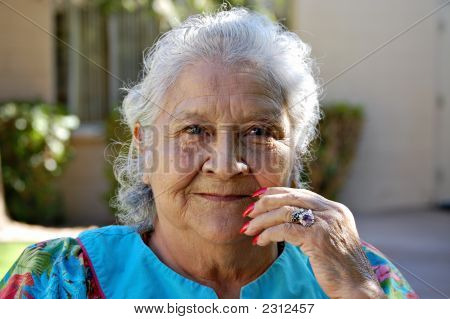 Hispanic Grandma
