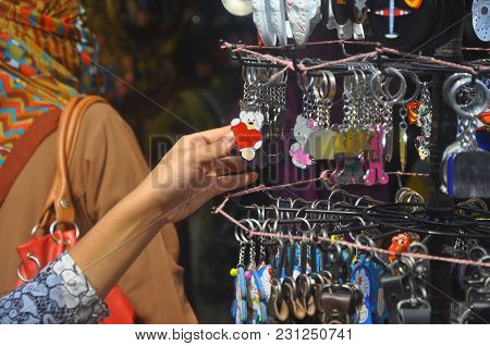 Dhaka, Bangladesh, 17 January 2018: An Image Of Some Key Rings. This Picture Was Captured From Dhaka