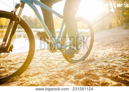 Photo Of Man Riding Bicycle On Summer Day