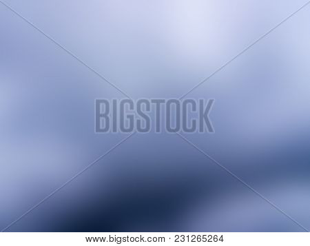 The varicolored blur Abstract picture in blue and dark blue.